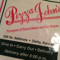 Photo taken at Pizza Johns by JD B. on 8/31/2012