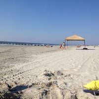 Photo taken at Wildwood Crest Beach by Donna on 8/16/2012