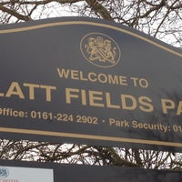 Photo taken at Platt Fields Park by Erinma O. on 3/11/2012
