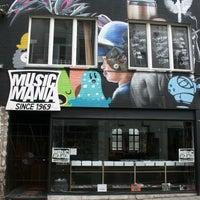 Photo taken at Music Mania by Amaury V. on 3/16/2012