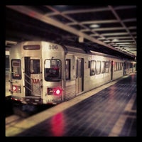 Photo taken at RTA Tower City Rapid Station by Curtis H. on 5/19/2012