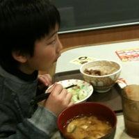 Photo taken at すき家 東園田店 by madoka h. on 2/25/2012