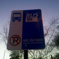 Photo taken at Westbound 106 Bus Stop by R. B. on 10/13/2011