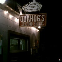 Photo taken at Quahog's Seafood Shack by John T. on 8/17/2012