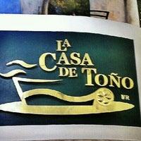 Photo taken at La Casa de Toño by Rodolfo O. on 1/31/2012