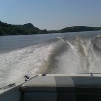 Photo taken at Mississippi River by Jamieson C. on 6/20/2012