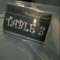 Photo taken at Taste Restaurant by Ahmad Faris M. on 1/25/2012