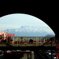 Photo taken at Metro Tepalcates (Línea A) by Mauricio E. on 10/7/2011