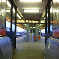 Photo taken at MBTA Malden Center Station by Totsaporn I. on 3/14/2012