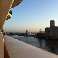 Photo taken at Tampa Port Authority by André D. on 3/8/2012