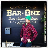 Photo taken at Bar One: a craft beer bar by Adam B. on 3/18/2012