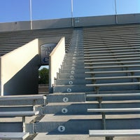 Photo taken at Buddy Moorehead Memorial Stadium by Juan V. on 6/24/2012