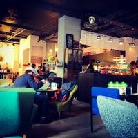 Photo taken at Café de la Presse by Charlotte on 8/24/2012