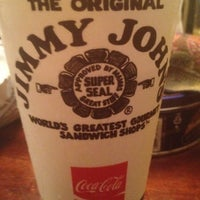 Photo taken at Jimmy John's by Mary N. on 8/7/2012