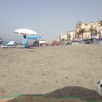 Photo taken at Playa Ferrara by Ильсия З. on 6/28/2012