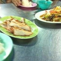 Photo taken at ร้านลาบหนองบัว by สาโรช ต. on 2/24/2012