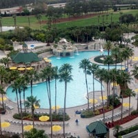 Photo taken at Orlando World Center Marriott by Jeff v. on 2/16/2012