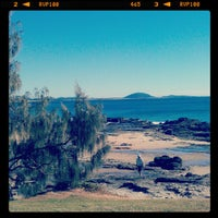 Photo taken at Mooloolaba Beach by Cat D. on 8/31/2012
