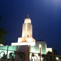 Photo taken at Templo Mormón by Gustavo R. on 2/28/2012