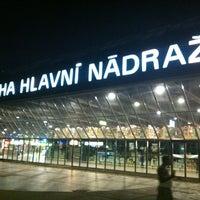 Photo taken at Prague Main Railway Station by Michel C. on 8/18/2012