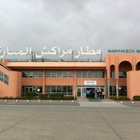 Photo taken at Marrakech Menara Airport (RAK) by Willem R. on 3/28/2012
