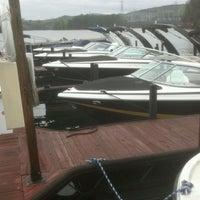 Photo taken at Cliffs At Lake Keowee Fuel Dock by Richard B. on 4/6/2012