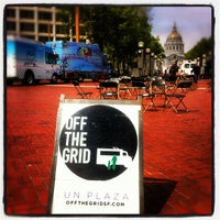 Photo taken at Off the Grid: UN Plaza by Off the Grid on 5/15/2012