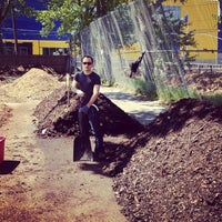 Photo taken at Red Hook Community Farm by David M. on 5/11/2012