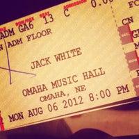Photo taken at Omaha Civic Auditorium - Music Hall by Tori F. on 8/7/2012