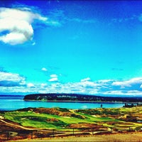 Photo taken at Chambers Bay Golf Course by Tasha H. on 6/6/2012