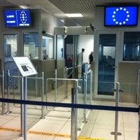 """Photo taken at Aeroporto di Verona """"Valerio Catullo"""" (VRN) by Giacomo M. on 3/30/2012"""