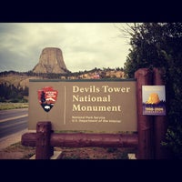 Photo taken at Devils Tower National Monument by Kimihito T. on 7/28/2012