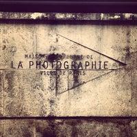Photo taken at Maison Européenne de la Photographie by MADURA Home Decoration w. on 2/29/2012