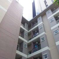 Photo taken at Thai CC residence garden by Wisit B. on 6/6/2012