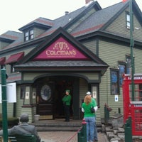 Photo taken at Coleman's Authentic Irish Pub by Tom M. on 3/17/2012