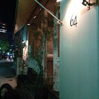 Photo taken at Bar&Bistro 64 by Daegyeom K. on 6/9/2012