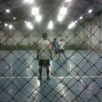Photo taken at IFI Futsal Center by Heru K. on 8/21/2012