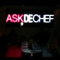 Photo taken at Ask de Chef - Fusion | Sushi | Lounge by Theo M. on 8/19/2012
