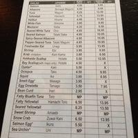 Photo prise au Yen Sushi & Sake Bar (Century City) par Gary H. le3/16/2012