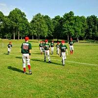 Das Foto wurde bei Baseballstadion Rheinaue von Urs A. am 5/28/2012 aufgenommen