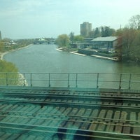 Photo taken at GO Train - Lakeshore West by Fábio F. on 5/9/2012