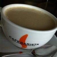 Photo taken at Café Barista by Luis P. on 8/13/2012