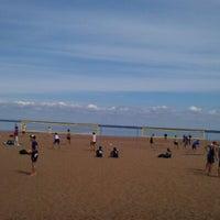 Photo taken at Пляж «Северный» by Masha N. on 6/11/2012