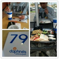 Photo taken at Daphne's California Greek by Mindy C. on 6/11/2012