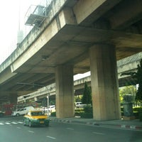 Photo taken at Pradiphat Intersection by Pang P. on 4/10/2012
