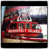 Photo taken at Roosevelt Island Tram (Manhattan Station) by kristy b. on 8/12/2012