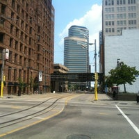 Photo taken at Warehouse District/Hennepin Ave LRT Station by Masahiko O. on 7/14/2012