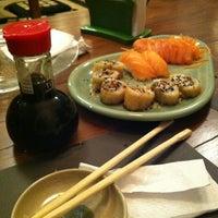 Photo taken at Naka Naka Sushi Bar by Amanda on 9/7/2012