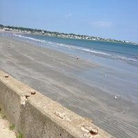 Photo taken at First Beach by Reggie R. on 7/4/2012