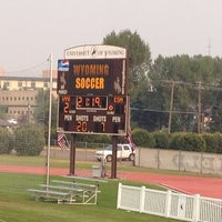 Photo taken at Louis S. Madrid Sports complex by Mary Carol on 8/15/2012